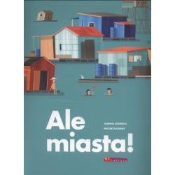 ALE MIASTA książka Joanna Łozińska