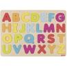 ALFABET drewniana układanka nauka literek