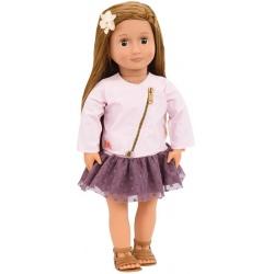 VIENNA duża lalka szatynka 46 cm