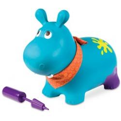 HIPCIO niebieski skoczek z pompką