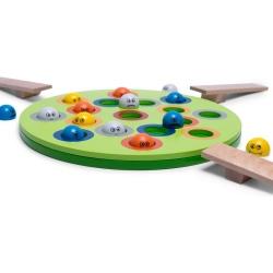 LATAJĄCE POTWORKI drewniana gra zręcznościowa