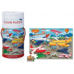 LOTNISKO puzzle tekturowe w tubie 50 el.