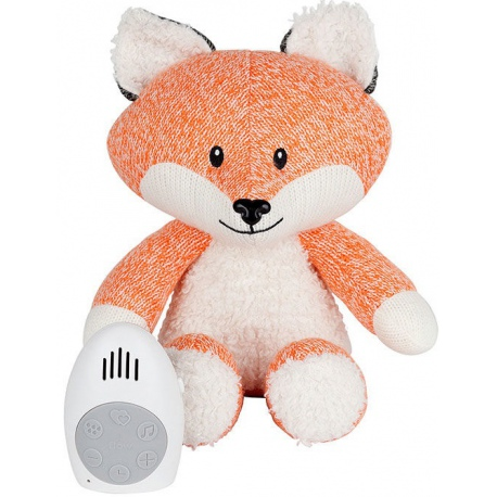USPOKAJAJĄCY POMARAŃCZOWY LISEK przytulanka z czujnikiem ruchu Robin the Fox
