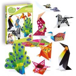 ZWIERZĄTKA origami krok po kroku zestaw kreatywny