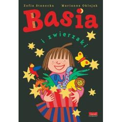 BASIA I ZWIERZAKI książka z zestawem kreatywnym Zofia Stanecka