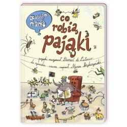 CO ROBIĄ PAJĄKI opowiem Ci mamo książka dla dzieci M. Brykczyński