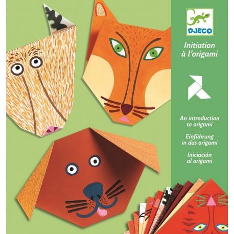 ZWIERZĄTKA origami z naklejkami