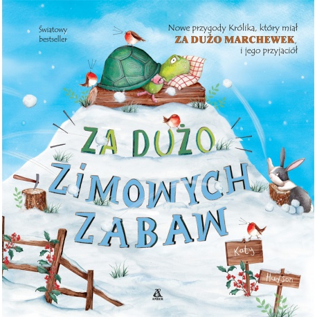 ZA DUŻO ZIMOWYCH ZABAW książka dla dzieci Katy Hudson