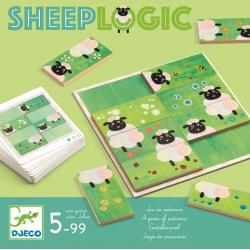 SHEEP LOGIC drewniana gra logiczna