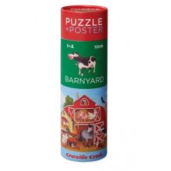 FARMA puzzle w tubie 100 el.