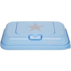 BŁĘKITNY POJEMNIK na chusteczki To Go Blue Silver Star