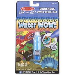 DINOZAURY wodna kolorowanka WATER WOW