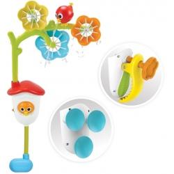 KWIATKI karuzela sensoryczna zabawka do kąpieli