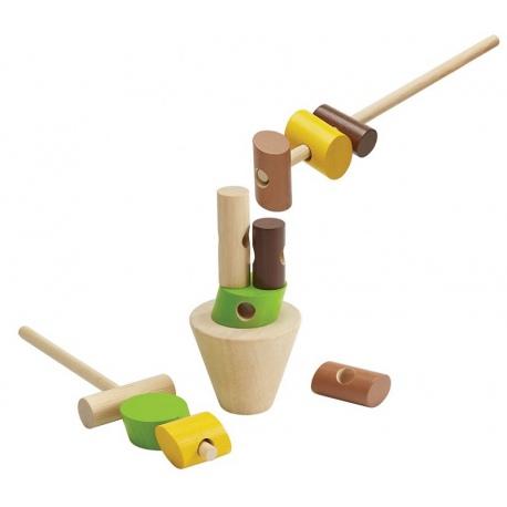BALANSUJĄCE PIEŃKI drewniana gra zręcznościowa
