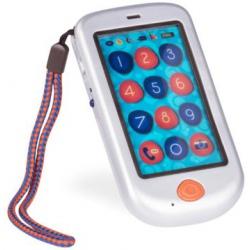 SREBRNY DOTYKOWY TELEFON dla Malucha HiPhone