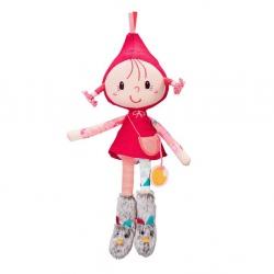 CZERWONY KAPTUREK lalka szmacianka