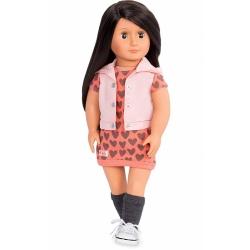 LILI duża lalka brunetka 46 cm