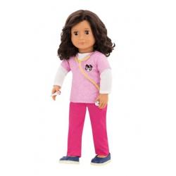 ROSE duża lalka retro 46 cm