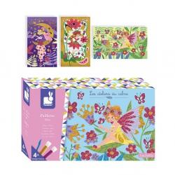WRÓŻKI magiczny brokat zestaw kreatywny Art&Craft
