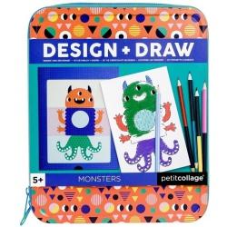 POTWORKI projektuj i rysuj zestaw kreatywny