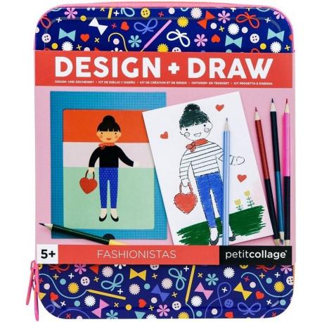 MODA projektuj i rysuj zestaw kreatywny