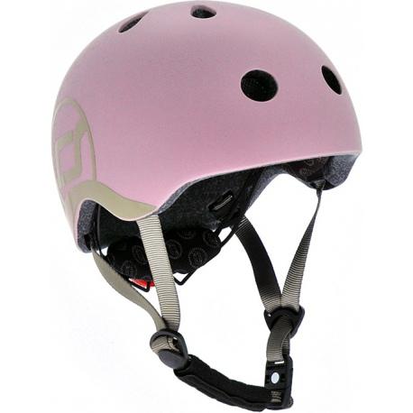 ROSE różowy kask rowerowy dla dzieci 1-5 lat