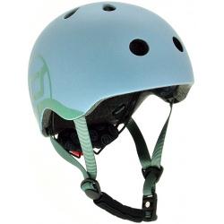 STEEL kask rowerowy dla dzieci 1-5 lat