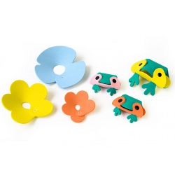 ŻABKI zestaw piankowych puzzli 3D QUUTOPIA