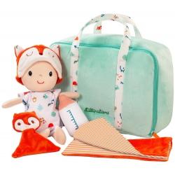 ALEX lalka szmacianka z walizeczką i akcesoriami