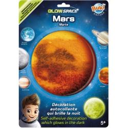 MARS planeta świecąca w ciemności