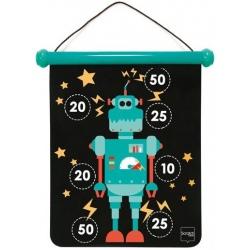 ROBOT magnetyczne rzutki małe gra zręcznościowa
