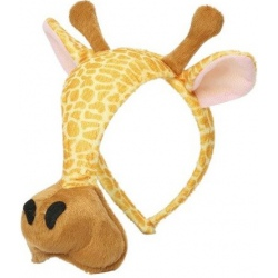 ŻYRAFA maska opaska dla przedszkolaka