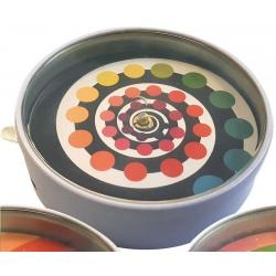 ILUZJA OPTYCZNA magiczna spirala wzór 2