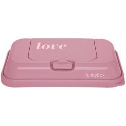 RÓŻOWY POJEMNIK na chusteczki To Go Vintage Pink Love