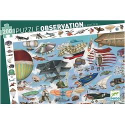 AERO KLUB tekturowe puzzle obserwacje 200 el.