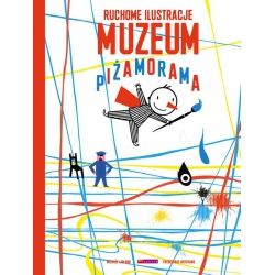 MUZEUM. PIŻAMORAMA książka iluzja ruchu Frederique Bertrand, Michael Leblond