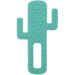 KAKTUS zielony gryzak silikonowy