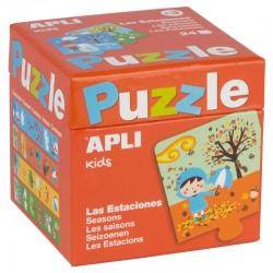 PORY ROKU puzzle tekturowe 24 el.