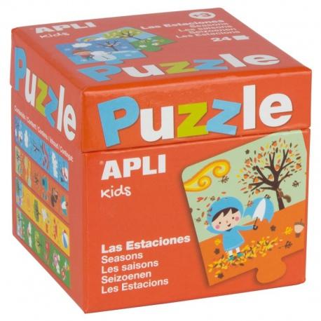 MAPA ŚWIATA puzzle Mapedia 100 el.