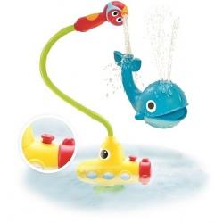 OUTLET - OKRĘT PODWODNY WIELORYB zabawka do kąpieli