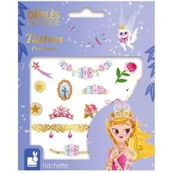 KSIĘŻNICZKI pokaz mody zmywalne tatuaże zestaw Art&Craft