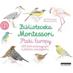 PTAKI EUROPY zestaw edukacyjny Biblioteczka Montessori