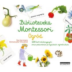 OGRÓD zestaw edukacyjny Biblioteczka Montessori