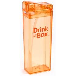 POMARAŃCZOWY BIDON ze słomką orange 350 ml