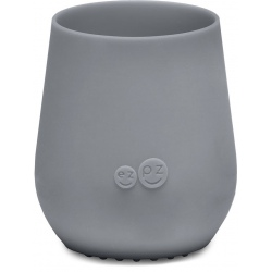 SZARY silikonowy kubeczek Tiny Cup