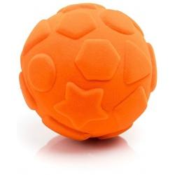 PIŁKA figury geometryczne sensoryczna pomarańczowa