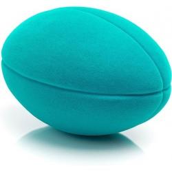 PIŁKA rugby sensoryczna turkusowa