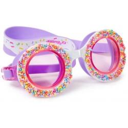 POSYPKA CUKROWA fioletowe okulary do pływania