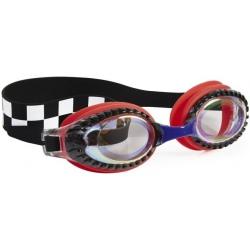 WYŚCIGI czerwone okulary do pływania