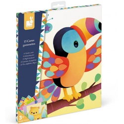 ZWIERZĘTA ŚWIATA karty z naklejkami zestaw kreatywny Art&Craft